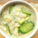 黄瓜鸡蛋疙瘩汤的做法