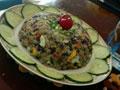 五彩时蔬蛋炒饭的做法
