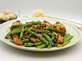 四季豆炒鱼的做法