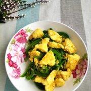 家常青椒炒鸡蛋的做法