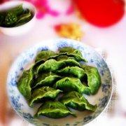虾皮鸡蛋翡翠饺子的做法