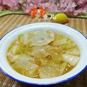 白菜粉皮煮饺子的做法