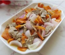 【洋葱炒胡萝卜】洋葱炒胡萝卜的做法_洋葱炒胡萝卜营养_洋葱炒胡萝卜