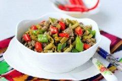酸豇豆炒羊肉的家常做法