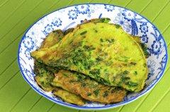 【韭菜鸡蛋饼怎么做】韭菜鸡蛋饼的做法大全图解