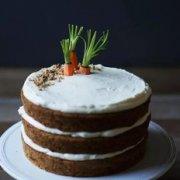 生姜奶油芝士糖霜胡萝卜蛋糕的做法