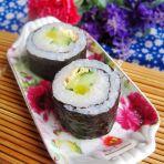 酸萝卜寿司的做法