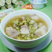 青黄豆五花肉汤的做法