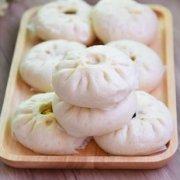 冬菇素菜包的做法