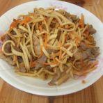 胡萝卜肉丝炒千张