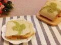 东菱麦旋风之双色抹茶土司的做法