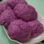 软香紫薯馒头的做法