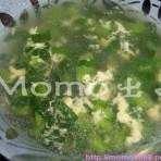 蛋花鸭仔菜汤