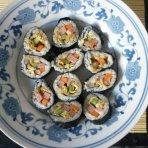 肉松紫菜包饭的做法