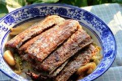 带鱼烧白菜的家常做法