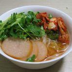 泡菜汤冷面的做法