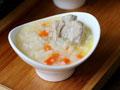 胡萝卜排骨粥的做法
