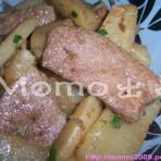 萝卜炒猪肝