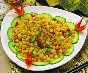 松仁玉米家常做法 粒粒美味纷纷着迷