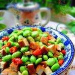 豆干炒青豆