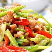 【芹菜炒肉】芹菜炒肉的做法_芹菜炒牛肉_芹菜炒肉丝