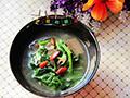 猪血菠菜汤的做法