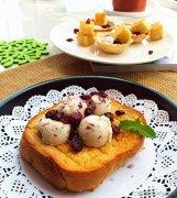 在家diy米酒蔓越莓冰淇淋做法