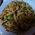 芹菜炒干豆腐的做法