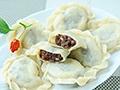 红豆沙饺子的做法
