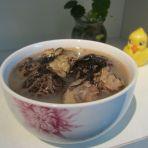 发菜花胶瑶柱汤的做法