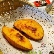 温暖味蕾的芝士焗番薯的做法