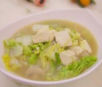 【小白菜炖豆腐】小白菜炖豆腐的做法大全