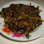 肉炒茄丝的做法