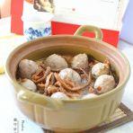 腐竹针菜羊肉丸汤的做法