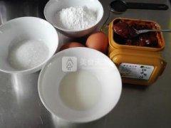 黄豆酱海绵蛋糕的做法
