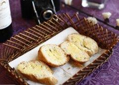 法式蒜蓉面包的做法