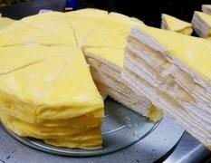 榴莲千层蛋糕的做法视频