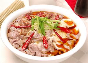 四川水煮肉片的家常做法
