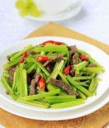 【毛芹菜炒肉的做法】毛芹菜炒肉的营养价值_毛芹菜炒肉的适宜人群