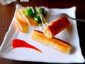 鲜虾土司卷的做法
