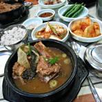 韩式排骨汤的做法