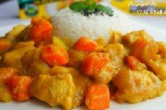 简餐:咖喱鸡肉饭的做法