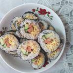 鸡肉寿司的做法