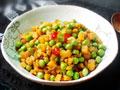 萝卜干炒豌豆的做法