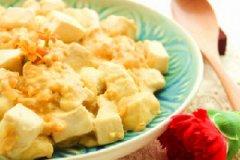 瑶柱蟹黄豆腐的做法
