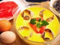 番茄花蛤蒸蛋的做法