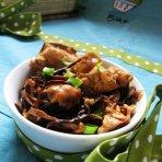 黄油蘑炖小鸡