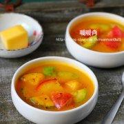 南瓜味噌浓汤的做法