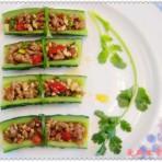 炝黄瓜卷的做法