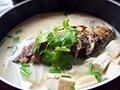 鲫鱼萝卜豆腐汤的做法